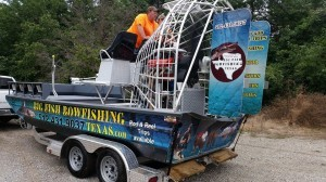 Silver Dollar Airboat for Fishing