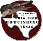 Texas Alligator Gar Rod & Reel - Bow Fishing Trips - Charters in